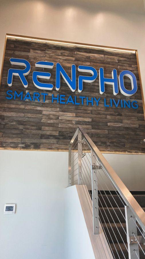 renpho channel letters