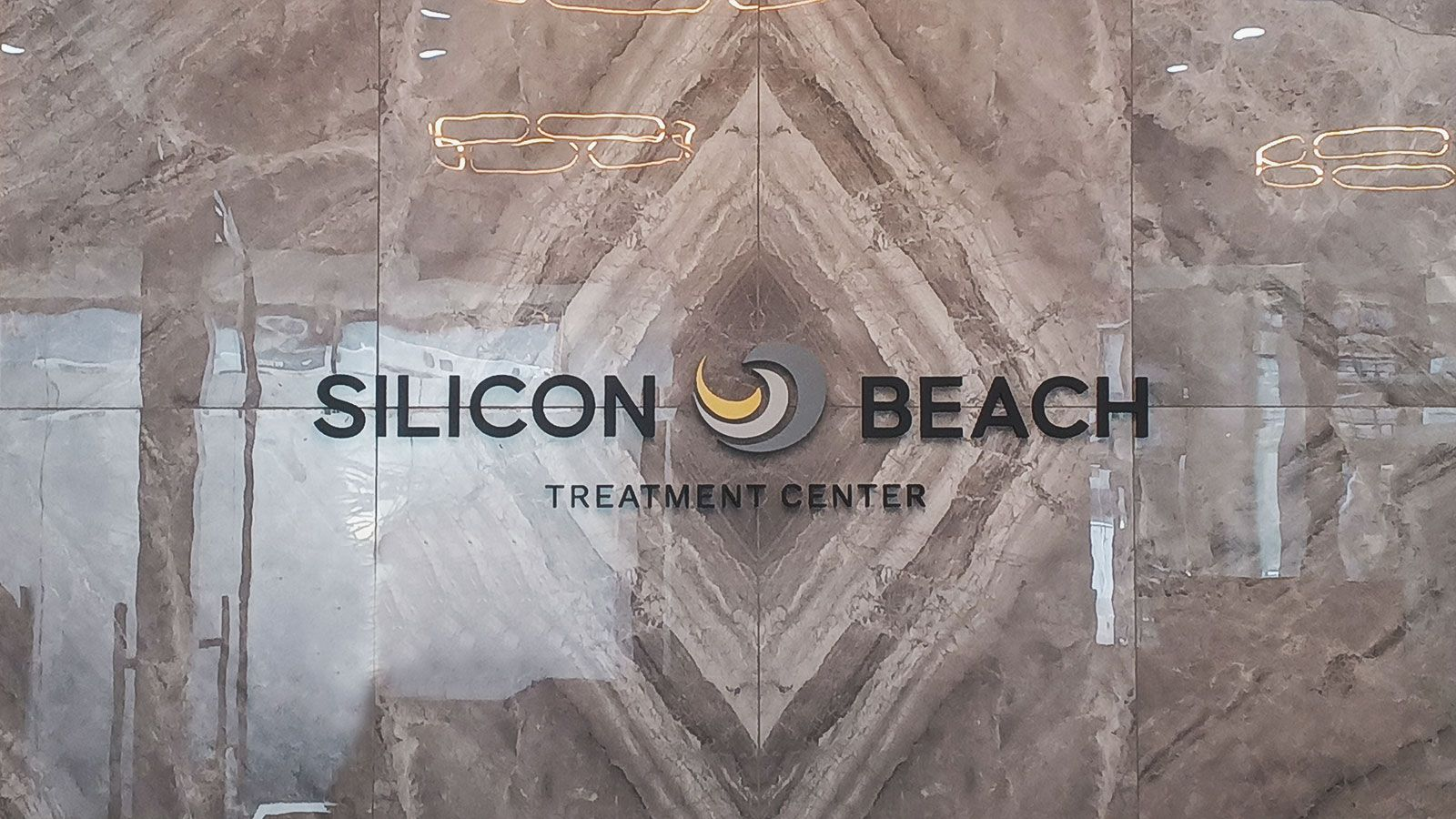 silicon beach 3d letters