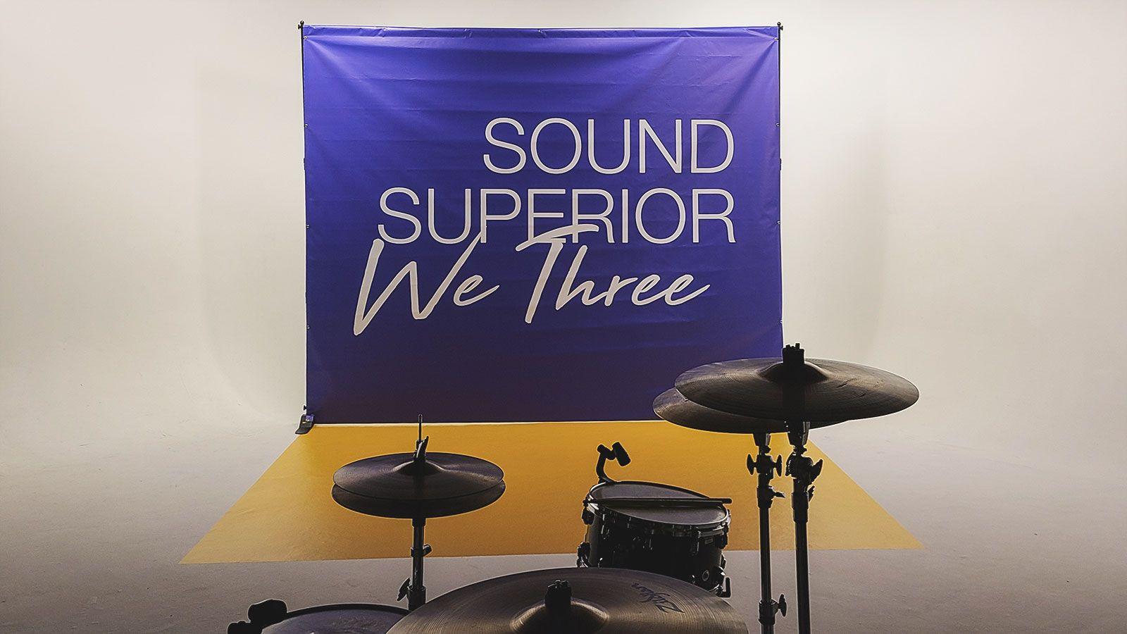 sound superior vinyl banner