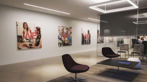 wella interior canvas prints