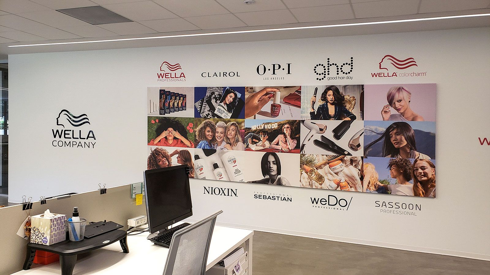 wella office signs
